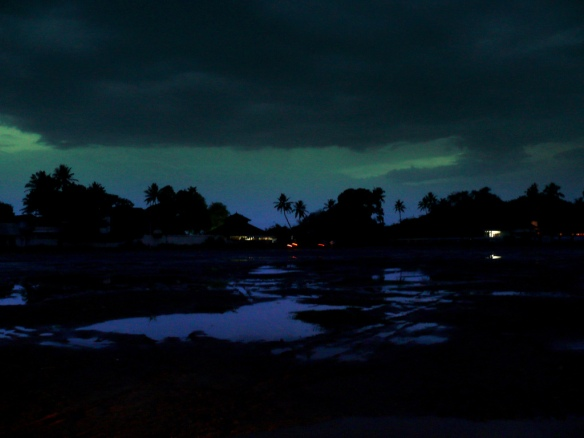 Monsoon Clouds at Dusk