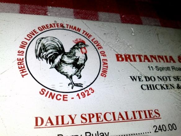 Britannia Slogan