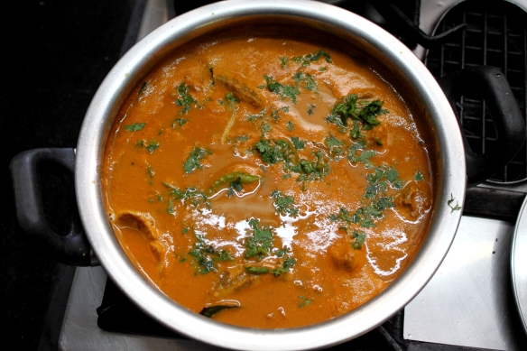 The finished Curry