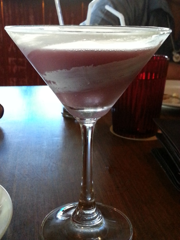 Grape and Goat Cheese Martini