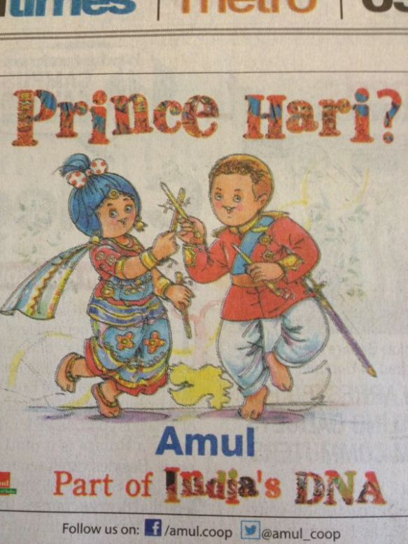 Prince harry is Indian and so am I!