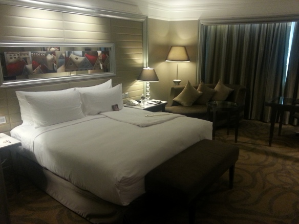 Executive room at Intercontinental Bangkok