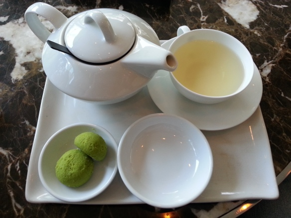 White Tea and Matcha cookies