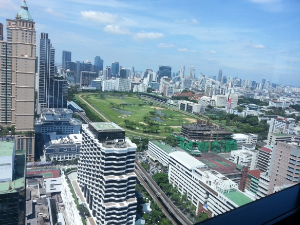 View from the Intercontinental Bangkok