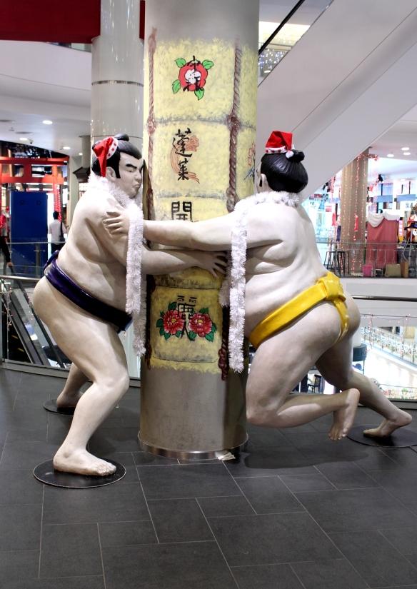 Terminal 21 Sumo Wrestlers