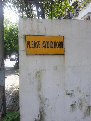 Please avoid Horn