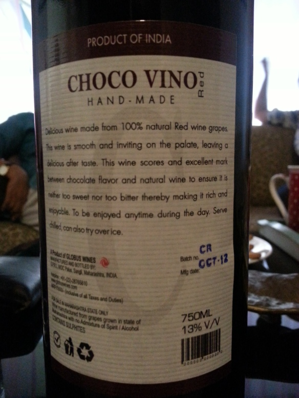 Choco Vino