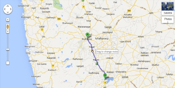Kolhapur to Hattargi