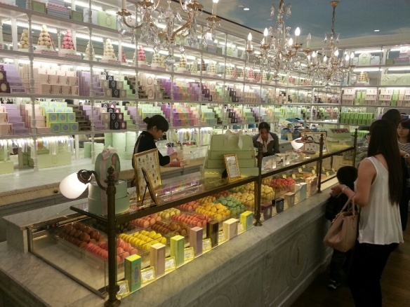 Laduree Ngee Ann City Interior