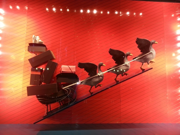 Louis Vuitton  Christmas Window Display