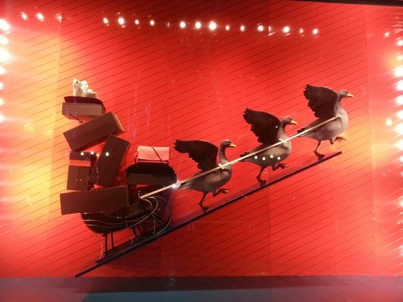 Louis Vuitton  Christmas Window Display
