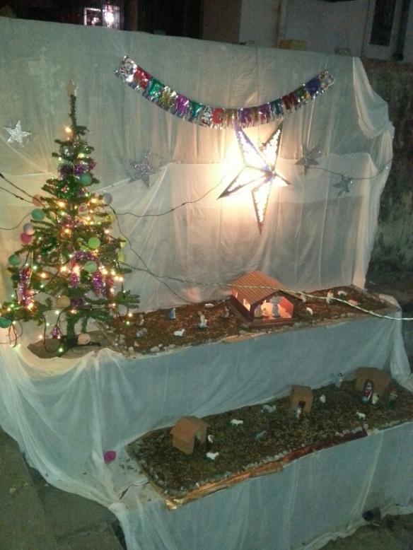 Indian Nativity Scene