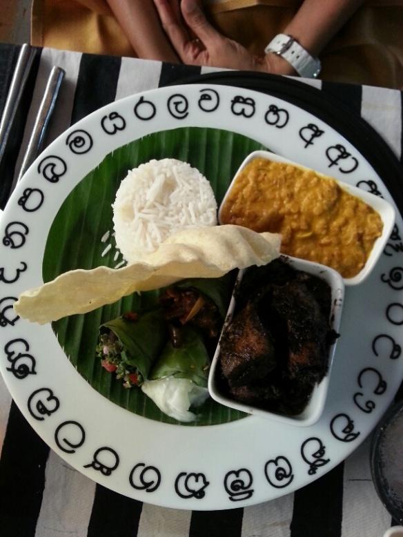 Black Pork Curry