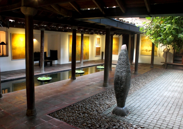 Gallery Cafe, Colombo - Courtyard