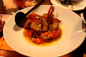 Chilli Garlic Crab