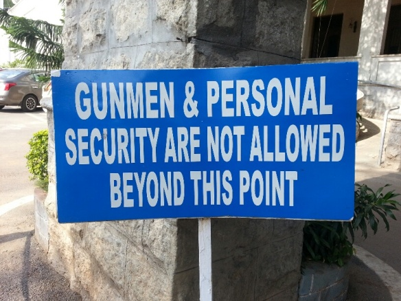 Gunmen and Personal Security