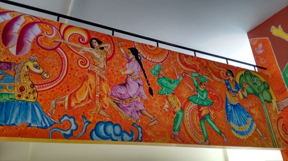 Mural at Christel House